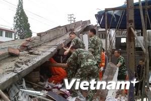 Trung Quốc: Lại xảy ra động đất liên hoàn ở Tứ Xuyên