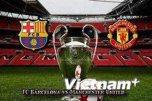 Khẩu chiến trước trận chung kết Barca-Man United