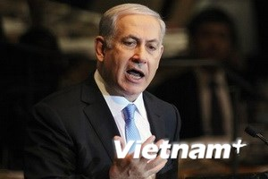 """Thủ tướng Israel chấp nhận kế hoạch của """"Bộ tứ"""""""