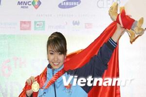 """""""VĐV vàng"""" của Việt Nam trong ngày thi đấu thứ 8"""