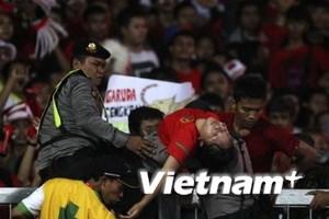 """""""Nỗi buồn bóng đá"""" làm người Indonesia hụt hẫng"""