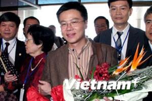 Giáo sư Ngô Bảo Châu được chào đón nồng nhiệt