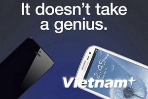 "Samsung ""gây sự"" iPhone 5"
