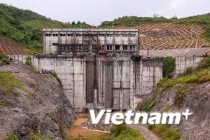 """""""Chưa tích nước lại hồ chứa thủy điện Sông Tranh 2"""""""