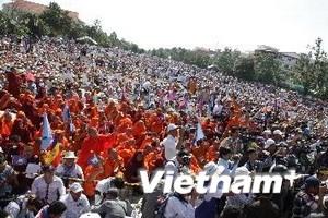 Đảng đối lập Campuchia chỉ được biểu tình ban ngày