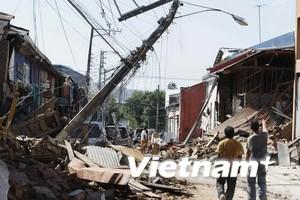 Trên 700 người chết do trận động đất ở Chile