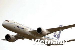 Boeing 787 bay thử nghiệm ngoài không phận Mỹ