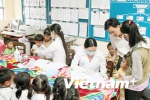 Bệnh tay chân miệng xuất hiện ở miền núi Phú Thọ