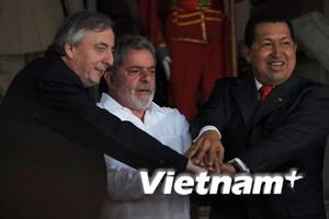 Brazil giúp giảm căng thẳng Venezuela và Colombia