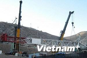Sắp tiếp cận được các thợ mỏ bị sập hầm ở Chile