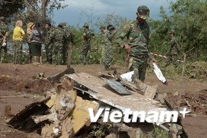 Lào tìm thấy 17 thi thể nạn nhân trong vụ rơi máy bay