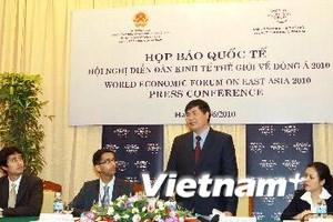 92 cơ quan truyền thông đưa tin về WEF Đông Á