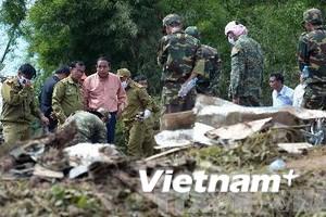 Thông báo ý kiến Thủ tướng Lào về vụ rơi máy bay