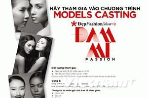 Chương trình Đẹp Fashion Show 10 tuyển người mẫu