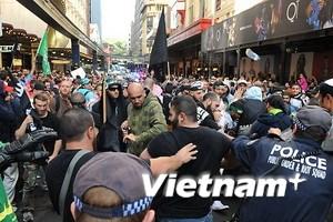 Biểu tình vì phim phỉ báng đạo Hồi lan tới Australia