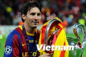 Chấm điểm Barca-MU 3-1: Tuyệt đỉnh Lionel Messi
