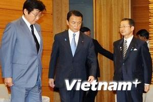 Thủ tướng Nhật Bản Taro Aso giải tán Hạ viện