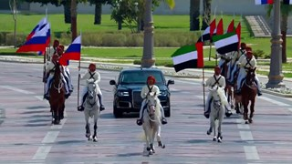 UAE tổ chức lễ đón tiếp siêu hoành tráng dành cho Tổng thống Nga