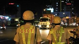 Thành phố Hồ Chí Minh ra quân tổng kiểm tra xe lưu thông ban đêm