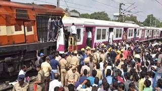 Hình ảnh từ camera về vụ tàu hỏa đâm trực diện tại Ấn Độ