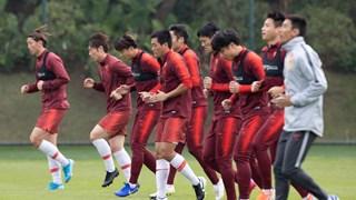 Đội tuyển quốc gia Trung Quốc chuẩn bị cho vòng loại World Cup 2022