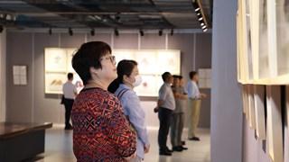 Trung Quốc tổ chức triển lãm nghệ thuật về cuộc chiến chống COVID-19
