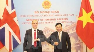 [Video] Việt Nam và Anh nỗ lực tăng cường hợp tác song phương
