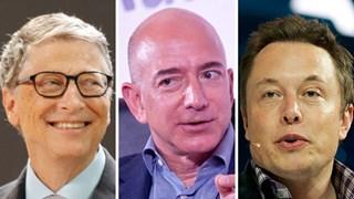 Điểm mặt 5 tỷ phú giàu nhất hành tinh, tài sản bằng GDP một quốc gia