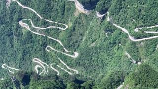 [Video] Thiên Môn sơn và con đường 99 khúc cua 'huyền thoại'