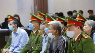 [Video] Hà Nội: Xét hỏi 6 bị cáo có đơn kháng cáo trong vụ Đồng Tâm