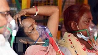 """[Video] Hàng nghìn người Ấn Độ dâng nước thiêng """"đuổi COVID-19"""""""
