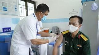 70% tổng số quân và dân Côn Đảo được tiêm phòng COVID-19