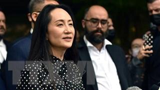 CFO Huawei được chào đón như người hùng khi trở về Trung Quốc