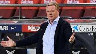 Koeman chỉ ra những điều không thích trong chiến thắng đậm của Barca
