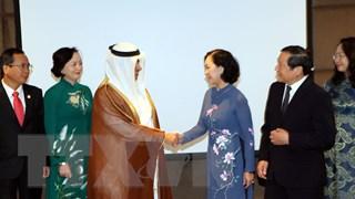 Trưởng Ban Dân vận Trung ương Trương Thị Mai thăm, làm việc tại Qatar