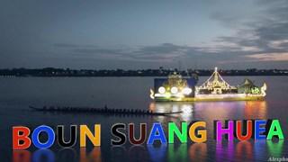 Độc đáo lễ hội đua thuyền truyền thống đón may mắn của người Lào