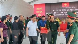 Thái Nguyên: Quy tập 10 hài cốt liệt sỹ  trong kháng chiến chống Pháp