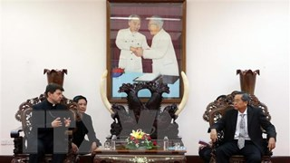 Đặc phái viên Vatican tại Việt Nam chào xã giao lãnh đạo tỉnh An Giang