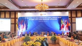 Cuộc họp lần thứ 9 ACCWG về vấn đề Timor-Leste xin gia nhập ASEAN