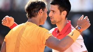 Rafael Nadal 'đại chiến' Novak Djokovic ở chung kết Rome Masters
