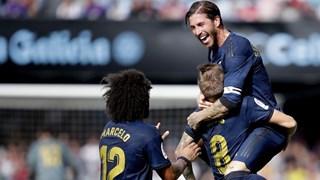 Video cận cảnh Real Madrid thắng đậm ngay trên sân Celta Vigo