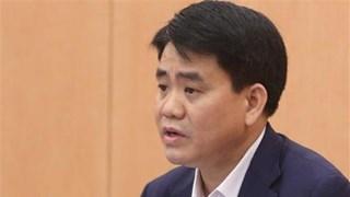[Video] Đề nghị khai trừ ông Nguyễn Đức Chung ra khỏi Đảng