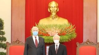 [Video] Tổng Bí thư, Chủ tịch nước tiếp Đại sứ Liên bang Nga