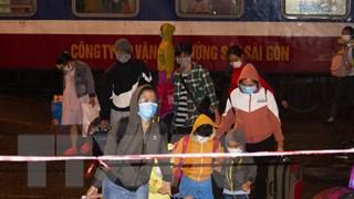 Quảng Trị đón thêm 448 người dân về từ các tỉnh, thành phía Nam