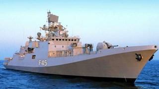 Tàu khu trục tàng hình của Hải quân Ấn Độ thăm Seychelles