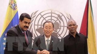 Guyana muốn Venezuela hợp tác về vấn đề chủ quyền ở Esequibo