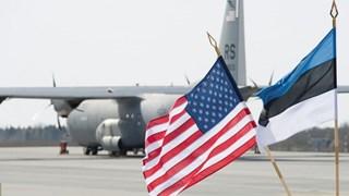Mỹ mở căn cứ quân sự mới tại Estonia để tiếp nhận vũ khí của NATO