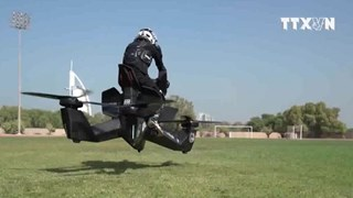 [Video] Cảnh sát Dubai tuần tra bằng môtô bay như phim hành động