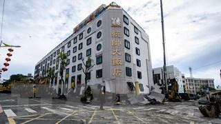 Động đất cường độ 6,1 tâm chấn ở độ sâu 19km làm rung chuyển Đài Loan