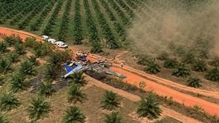 Rơi máy bay ở Colombia, ít nhất 10 người thương vong